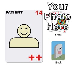 Quacks Patient Deck By Richard Irving   Playing Cards 54 Designs (rectangle)   Iwww9u6z0ril   Www Artscow Com Front - Heart5