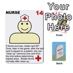 Quacks Patient Deck By Richard Irving   Playing Cards 54 Designs (rectangle)   Iwww9u6z0ril   Www Artscow Com Front - Heart6