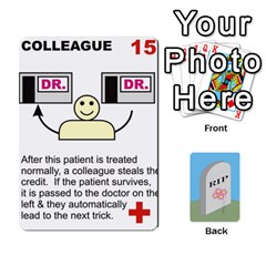 Quacks Patient Deck By Richard Irving   Playing Cards 54 Designs (rectangle)   Iwww9u6z0ril   Www Artscow Com Front - Diamond2