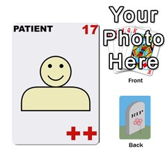 Quacks Patient Deck By Richard Irving   Playing Cards 54 Designs (rectangle)   Iwww9u6z0ril   Www Artscow Com Front - Club2