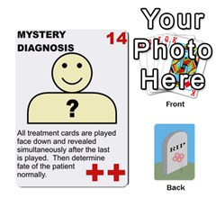 Quacks Patient Deck By Richard Irving   Playing Cards 54 Designs (rectangle)   Iwww9u6z0ril   Www Artscow Com Front - Club7