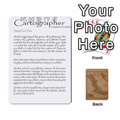 Cartographer2 Of 2 By Wulf Corbett   Playing Cards 54 Designs   Mub739ibqq8v   Www Artscow Com Front - Spade5