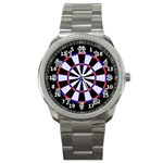 dartboard1 Sport Metal Watch