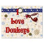 Love Donks Jigsaw Puzzle (Rectangular)