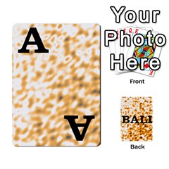 Bali 1 By Timmierz   Playing Cards 54 Designs (rectangle)   867p2b8r14wt   Www Artscow Com Front - Spade3