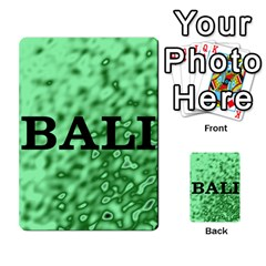 Bali 2 By Timmierz   Playing Cards 54 Designs (rectangle)   Ksymzr0m7sgl   Www Artscow Com Back