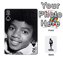 Michael Cards By Tiffany   Playing Cards 54 Designs   Kk166vmmszcr   Www Artscow Com Front - Spade2
