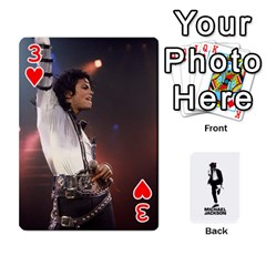 Michael Cards By Tiffany   Playing Cards 54 Designs   Kk166vmmszcr   Www Artscow Com Front - Heart3