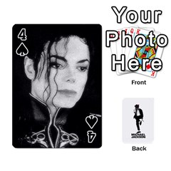 Michael Cards By Tiffany   Playing Cards 54 Designs   Kk166vmmszcr   Www Artscow Com Front - Spade4