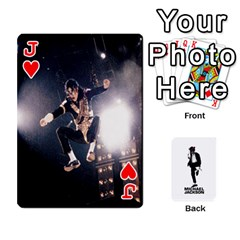 Jack Michael Cards By Tiffany   Playing Cards 54 Designs   Kk166vmmszcr   Www Artscow Com Front - HeartJ