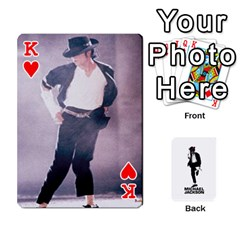 King Michael Cards By Tiffany   Playing Cards 54 Designs   Kk166vmmszcr   Www Artscow Com Front - HeartK