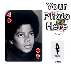 Michael Cards By Tiffany   Playing Cards 54 Designs   Kk166vmmszcr   Www Artscow Com Front - Diamond4
