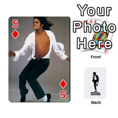 Michael Cards By Tiffany   Playing Cards 54 Designs   Kk166vmmszcr   Www Artscow Com Front - Diamond5