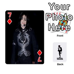 Michael Cards By Tiffany   Playing Cards 54 Designs   Kk166vmmszcr   Www Artscow Com Front - Diamond7