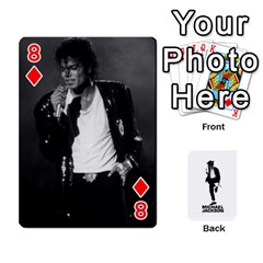 Michael Cards By Tiffany   Playing Cards 54 Designs   Kk166vmmszcr   Www Artscow Com Front - Diamond8