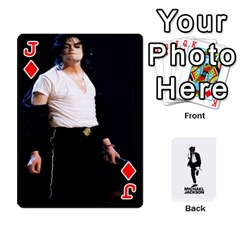 Jack Michael Cards By Tiffany   Playing Cards 54 Designs   Kk166vmmszcr   Www Artscow Com Front - DiamondJ