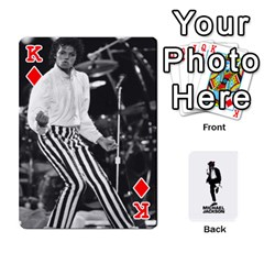 King Michael Cards By Tiffany   Playing Cards 54 Designs   Kk166vmmszcr   Www Artscow Com Front - DiamondK