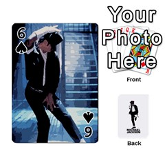 Michael Cards By Tiffany   Playing Cards 54 Designs   Kk166vmmszcr   Www Artscow Com Front - Spade6