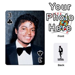 Michael Cards By Tiffany   Playing Cards 54 Designs   Kk166vmmszcr   Www Artscow Com Front - Club3