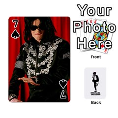 Michael Cards By Tiffany   Playing Cards 54 Designs   Kk166vmmszcr   Www Artscow Com Front - Spade7