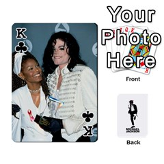King Michael Cards By Tiffany   Playing Cards 54 Designs   Kk166vmmszcr   Www Artscow Com Front - ClubK