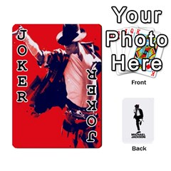 Michael Cards By Tiffany   Playing Cards 54 Designs   Kk166vmmszcr   Www Artscow Com Front - Joker1