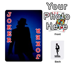Michael Cards By Tiffany   Playing Cards 54 Designs   Kk166vmmszcr   Www Artscow Com Front - Joker2