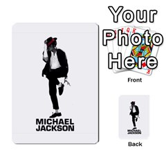 Michael Cards By Tiffany   Playing Cards 54 Designs   Kk166vmmszcr   Www Artscow Com Back