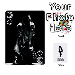Michael Cards By Tiffany   Playing Cards 54 Designs   Kk166vmmszcr   Www Artscow Com Front - Spade10