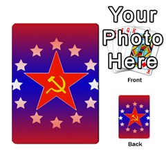 Red Scare By Peyton   Multi Purpose Cards (rectangle)   7jbh92pxnxru   Www Artscow Com Back 24