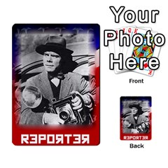 Red Scare By Peyton   Multi Purpose Cards (rectangle)   7jbh92pxnxru   Www Artscow Com Front 49