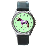 Swirl donk Round Metal Watch