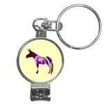 Swirl donk Nail Clippers Key Chain