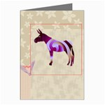 Swirl donk Greeting Card