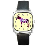 Swirl donk Square Metal Watch