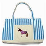 Swirl donk Striped Blue Tote Bag