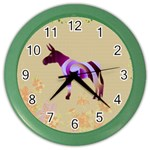 Swirl donk Color Wall Clock