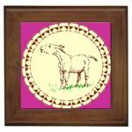 Donkey 2 Framed Tile