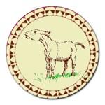 Donkey 2 Round Mousepad