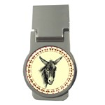 Donkey 3 - Money Clip (Round)