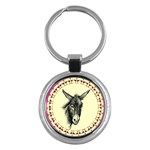 Donkey 3 - Key Chain (Round)