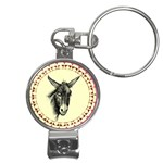 Donkey 3 - Nail Clippers Key Chain