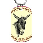 Donkey 3 - Dog Tag (One Side)