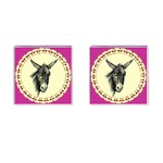 Donkey 3 - Cufflinks (Square)