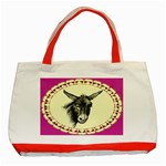 Donkey 3 - Classic Tote Bag (Red)