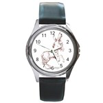 Donkey 5 Round Metal Watch