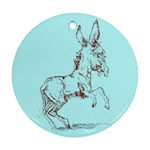 Donkey 5 Ornament (Round)