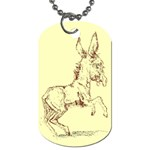 Donkey 5 Dog Tag (One Side)