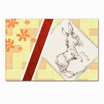 Donkey 5 Postcard 4 x 6  (Pkg of 10)