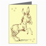 Donkey 5 Greeting Cards (Pkg of 8)
